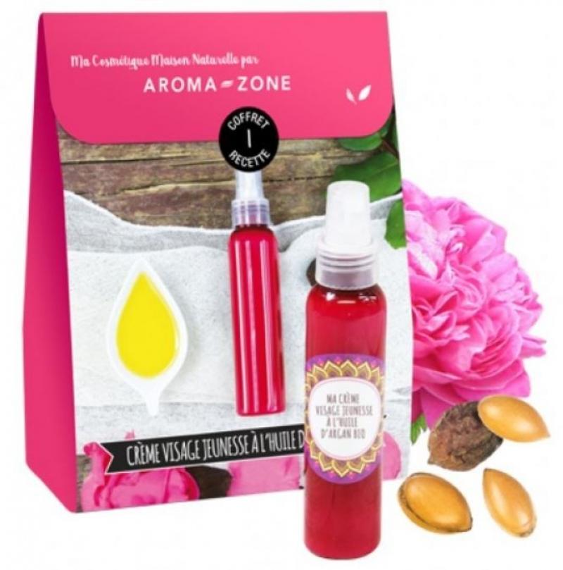 Kit Cosmetique Maison Creme Visage Jeunesse A L Huile D Argan Bio