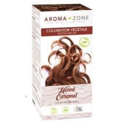 Aroma-Zone  Coloration capillaire végétale BIO Henné Caramel