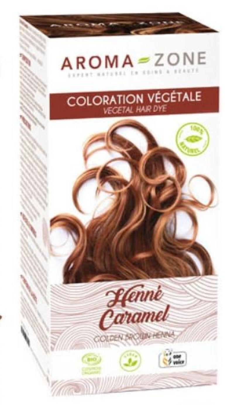 Aroma Zone Organic Brown Caramel Henna For Chestnut Brown Hair 1