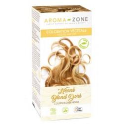 Aroma-Zone  Coloration capillaire végétale BIO Henné Blond doré
